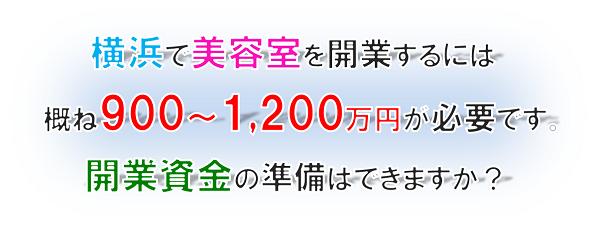 横浜市西区の甲田税理士による美容室の創業融資